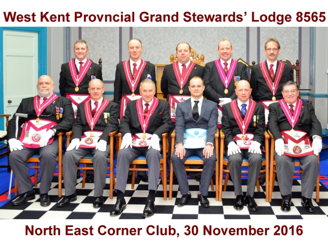 The West Kent Provincial Grand Stewards' Team