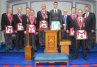 West Kent Provincial Grand Stewards' Ritual Demonstration Team - June 2018